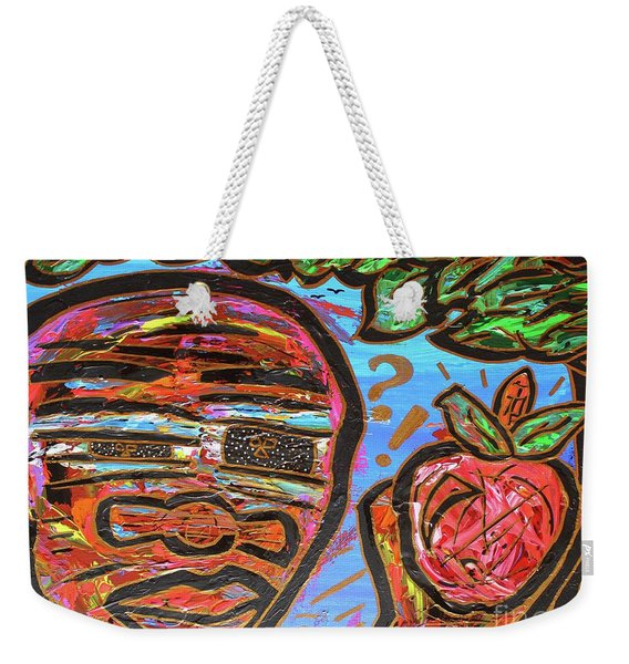 Adam's Apple Weekender Tote Bag