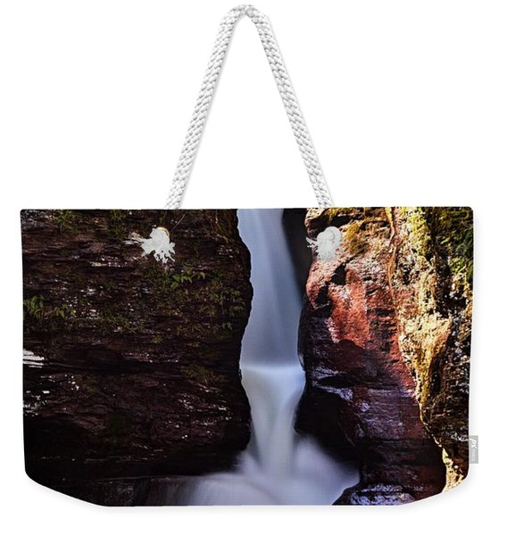 Adams Falls Weekender Tote Bag