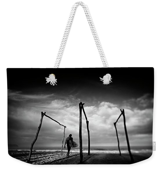 Add Lib Weekender Tote Bag