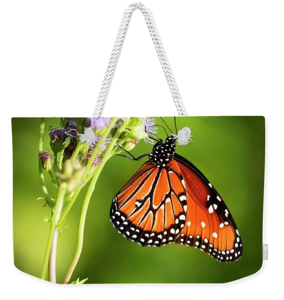 Addicted Queen Butterfly Weekender Tote Bag