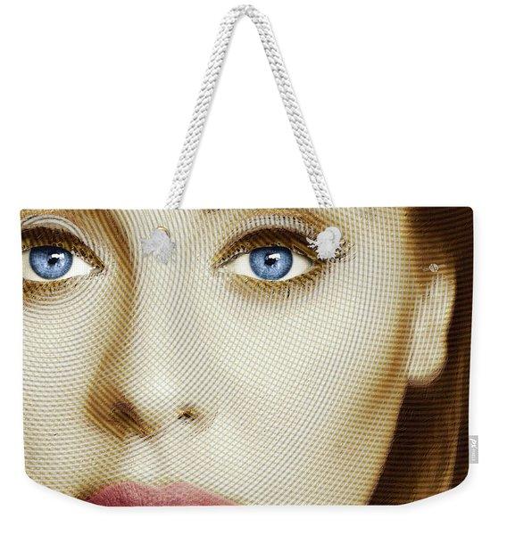 Adele Painting Circle Pattern 1 Weekender Tote Bag