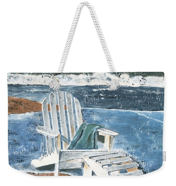 Adirondack Chair Weekender Tote Bag