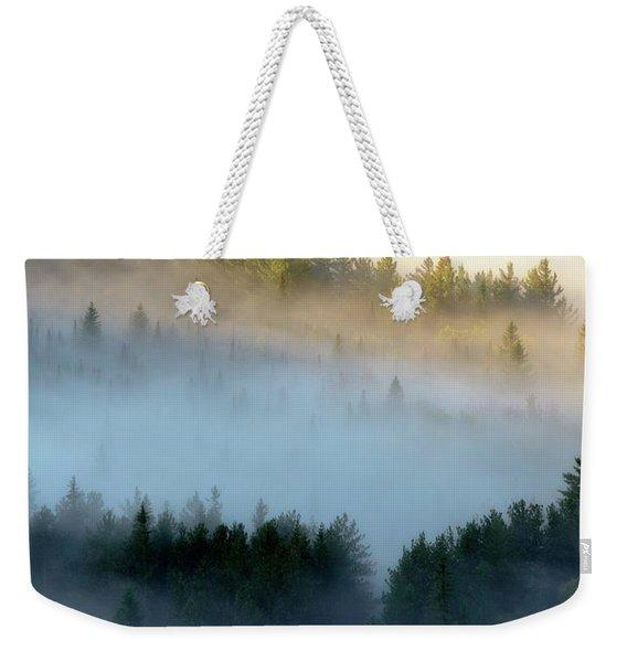 Adirondack Fog Weekender Tote Bag