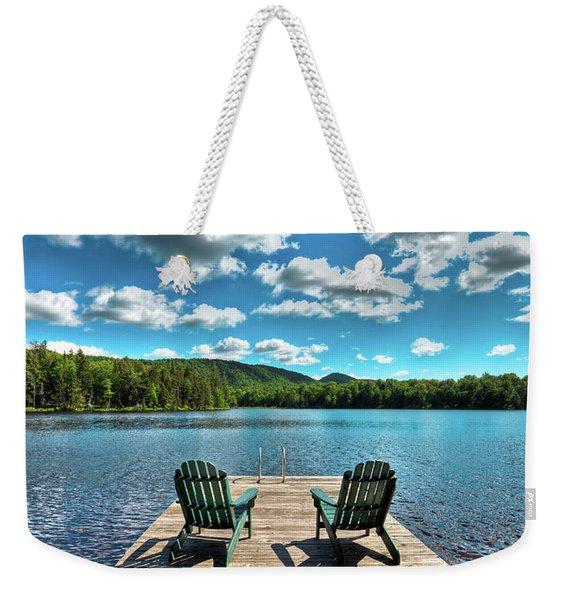 Adirondack Panorama Weekender Tote Bag