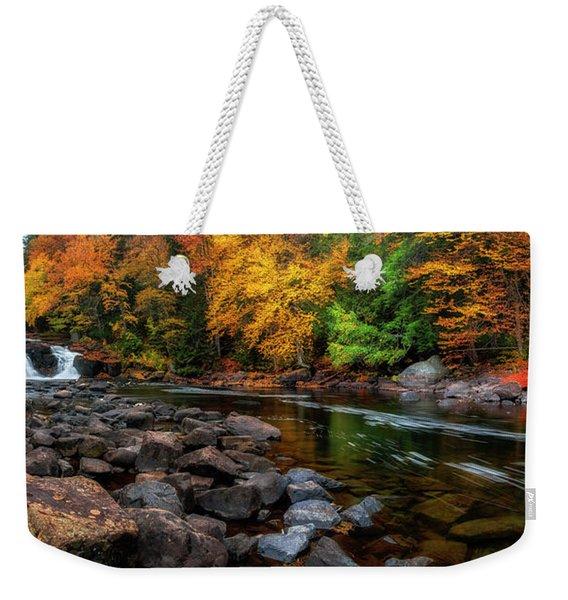 Adirondacks Buttermilk Falls Weekender Tote Bag