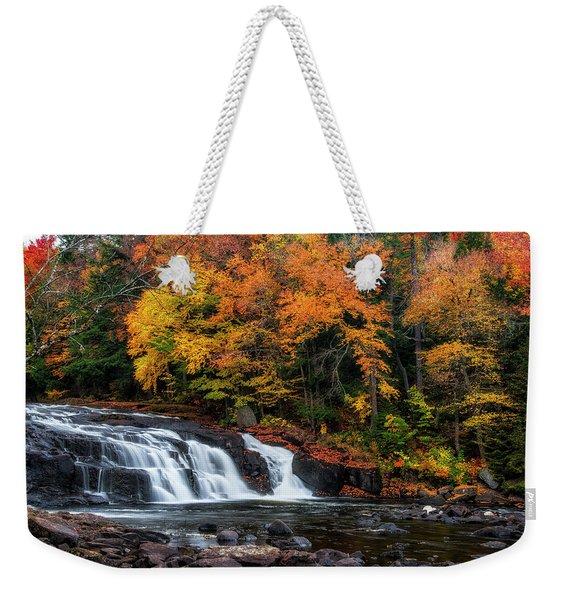 Adirondacks Waterfall Weekender Tote Bag