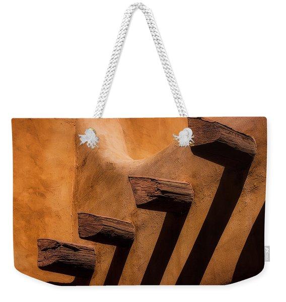 Adobe Building Detail Weekender Tote Bag