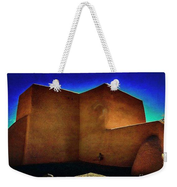 Adobe Church II Weekender Tote Bag