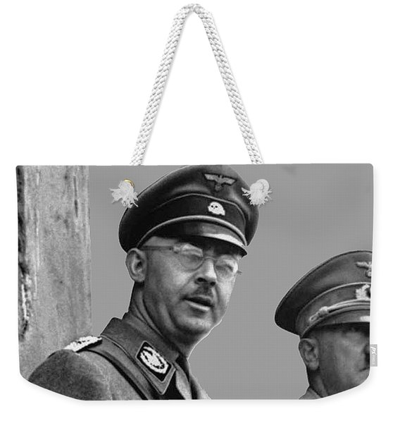 Adolf Hitler And Gestapo Head Heinrich Himmler Watching Parade Of Nazi Stormtroopers 1940-2015 Weekender Tote Bag