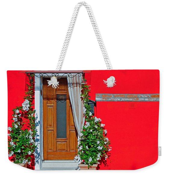 A-door-ned Weekender Tote Bag