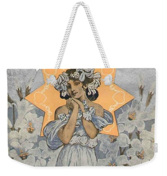 Adoration Art Deco Weekender Tote Bag