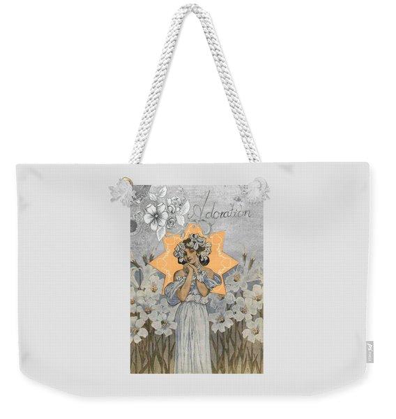 Adoration Art Deco Weekender Tote Bag