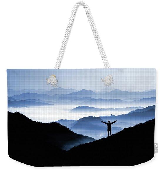 Adoration Of Natural Beauty Weekender Tote Bag