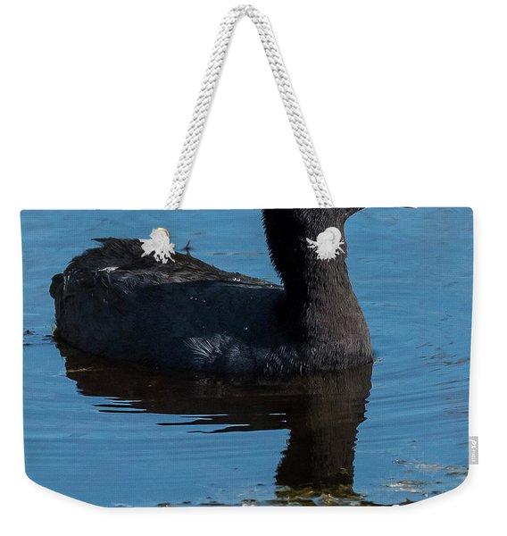 Adult American Coot Weekender Tote Bag
