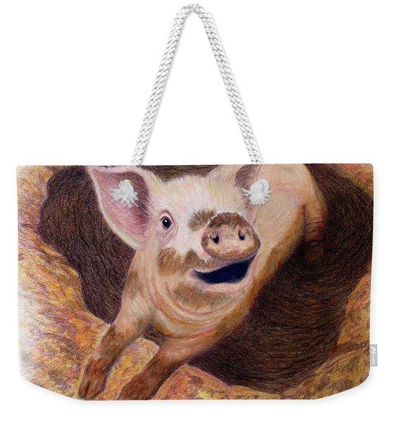 Adventurous Weekender Tote Bag