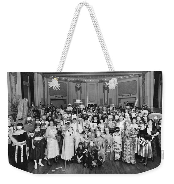 Advertising Costume Party Weekender Tote Bag