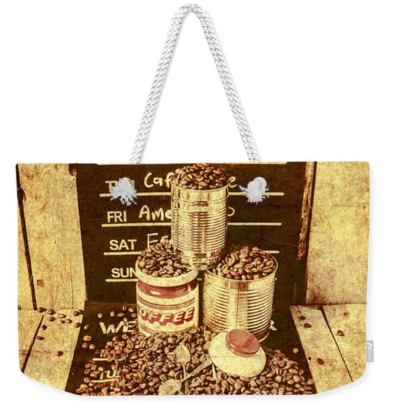 Adverts From The Old Coffee Mill Weekender Tote Bag
