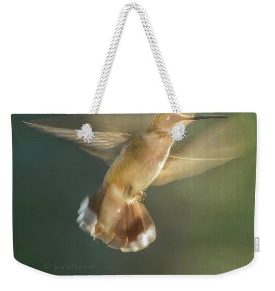Aerial Dancing.... Weekender Tote Bag