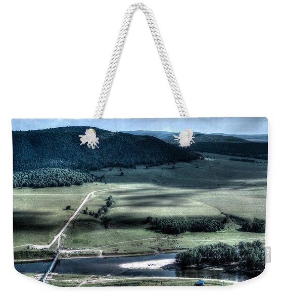Aerial View Of Rolling Russian Hills Weekender Tote Bag