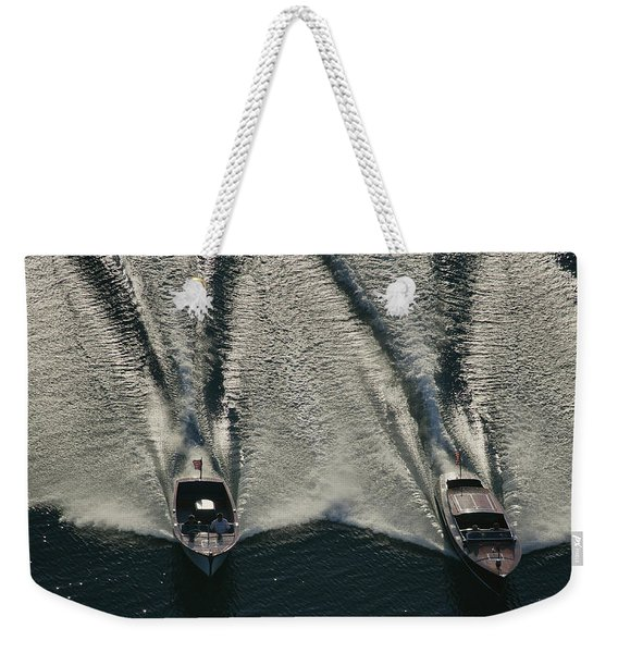 Aerial Wash Weekender Tote Bag