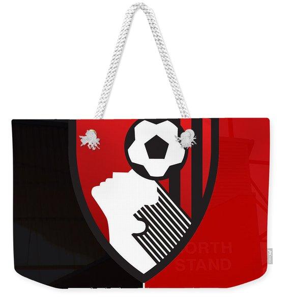 Afc Bournemouth Weekender Tote Bag