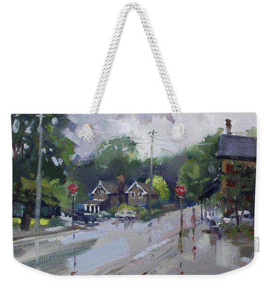 Afetr Rain At Glen Williams On Weekender Tote Bag