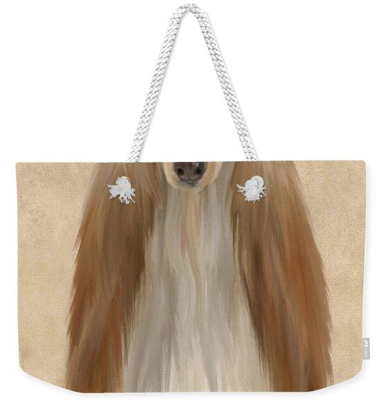 Afghan Hound Weekender Tote Bag