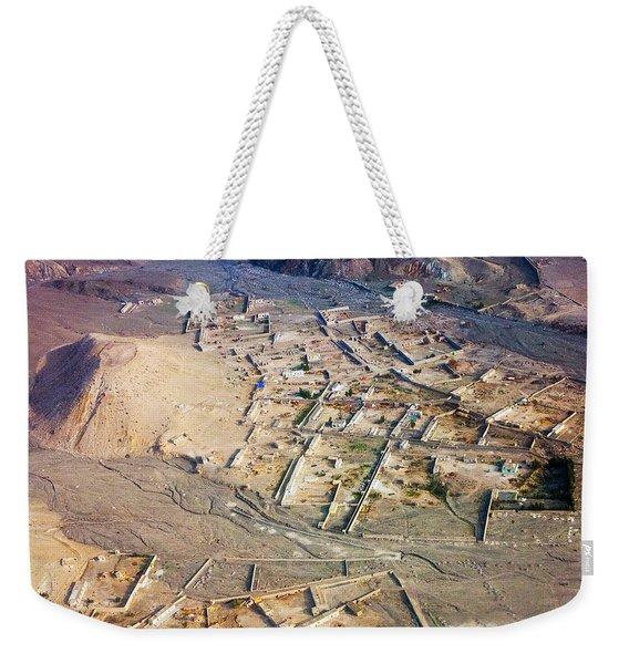 Afghan River Village Weekender Tote Bag