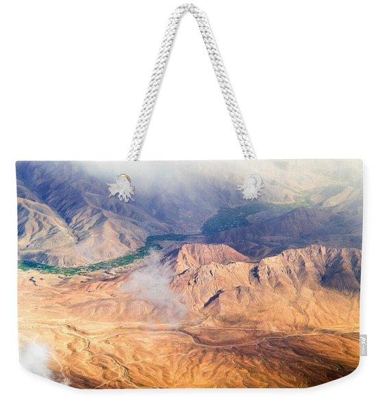 Afghan Valley At Sunrise Weekender Tote Bag