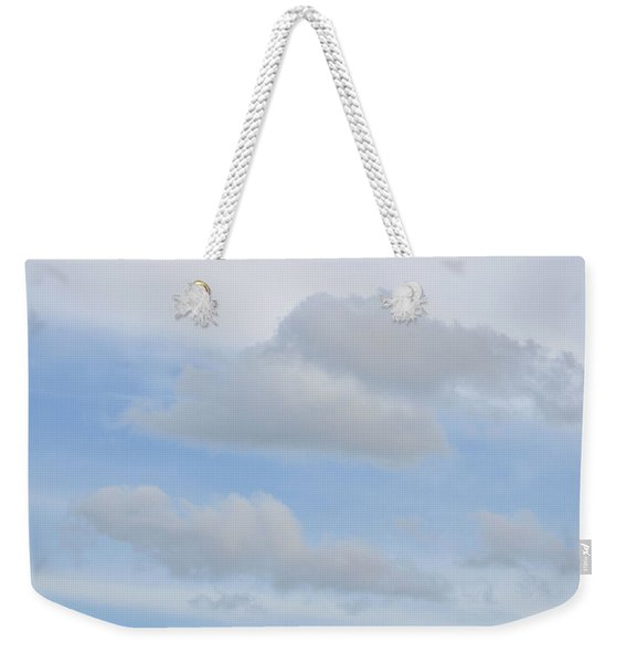 Weekender Tote Bag featuring the photograph Afloat by JAMART Photography