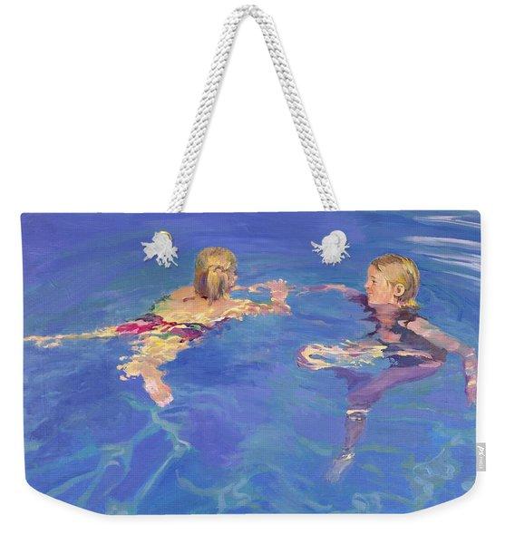 Afloat Weekender Tote Bag
