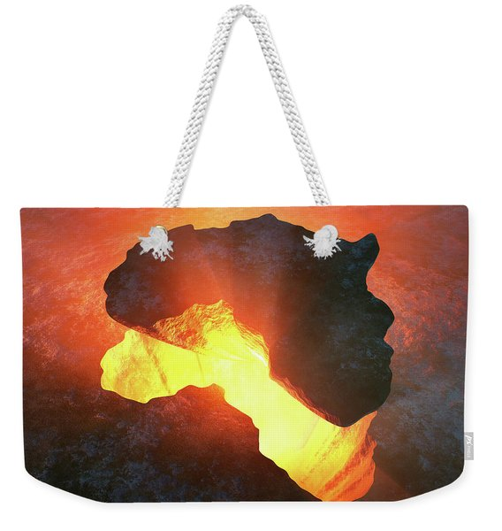 Africa Conceptual Design Weekender Tote Bag