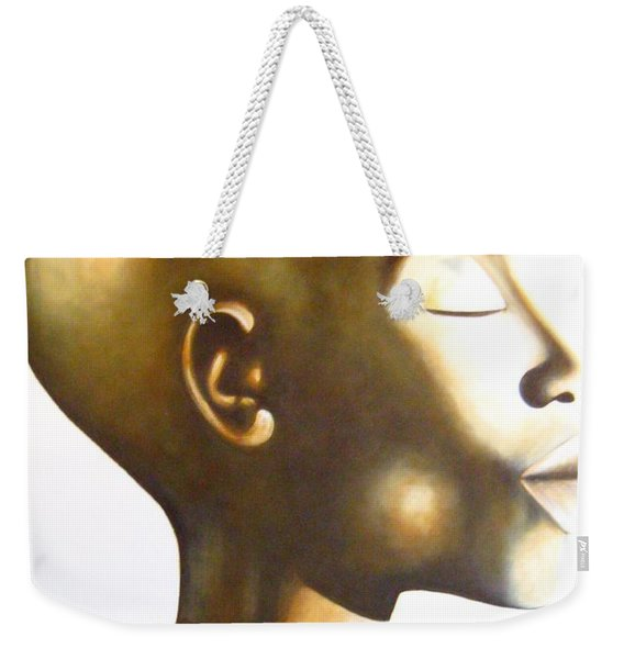 African Elegance Sepia - Original Artwork Weekender Tote Bag
