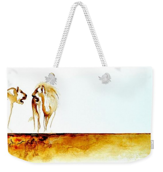 African Marriage - Original Artwork Weekender Tote Bag