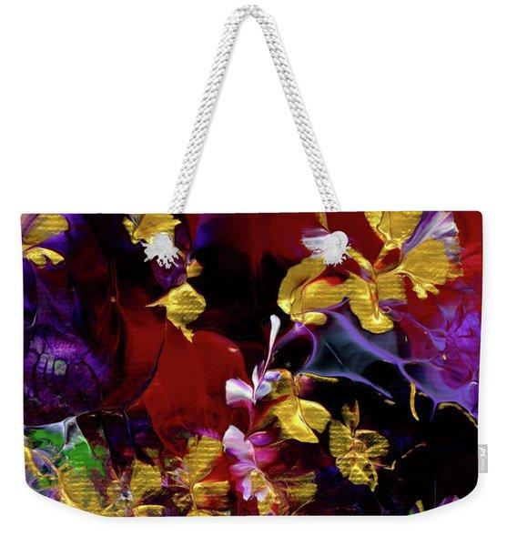 African Violet Awake #3 Weekender Tote Bag