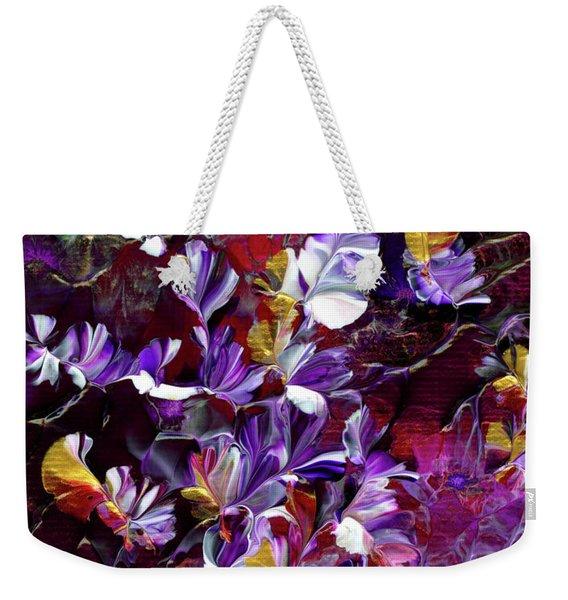 African Violet Awake #4 Weekender Tote Bag