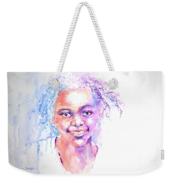 Africani Girl Weekender Tote Bag