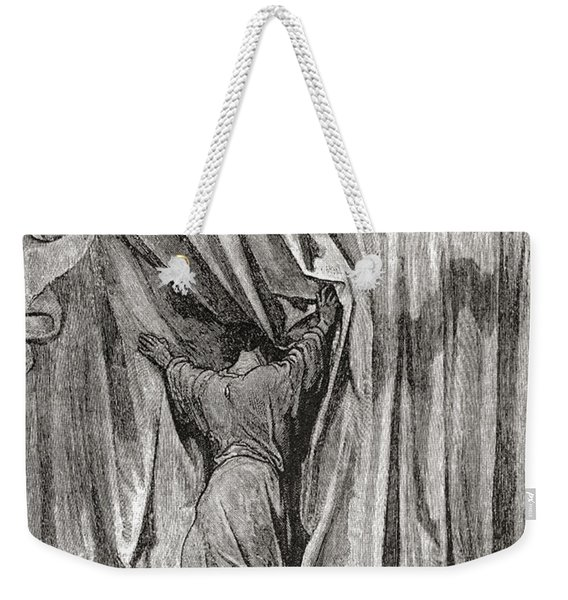After A Drawing By Gustave Dore For Weekender Tote Bag