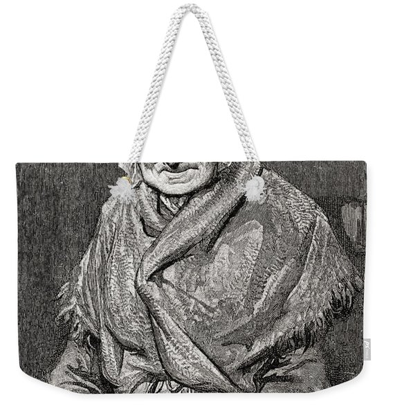 After A Drawing Done In 1880 By Gustave Weekender Tote Bag