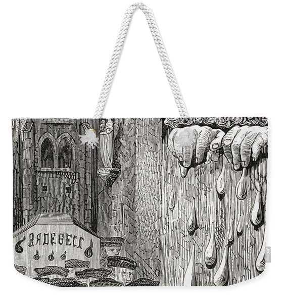After A Gustave Dore Illustration To A Weekender Tote Bag