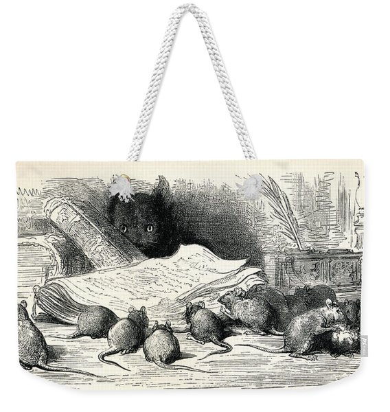 After A Work By Gustave Dore From Weekender Tote Bag