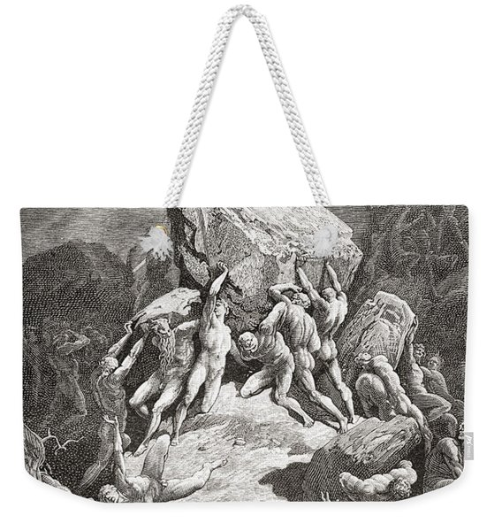 After An Original Sketch For The Bible Weekender Tote Bag