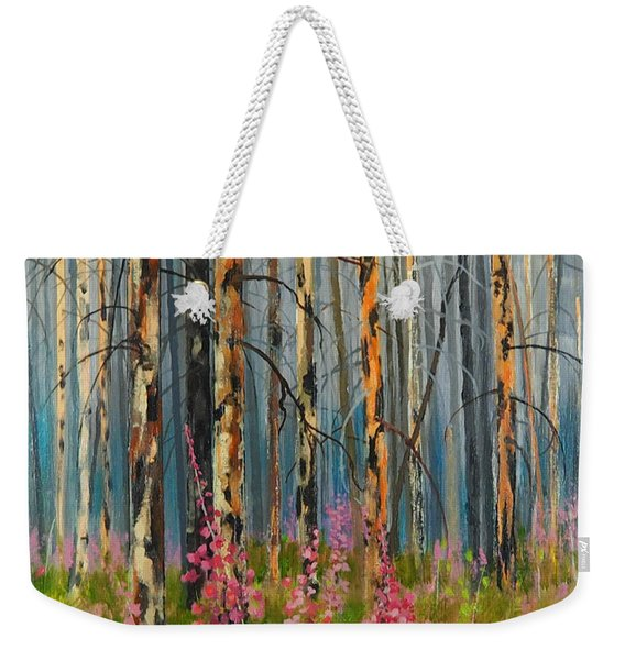 After Forest Fire Weekender Tote Bag