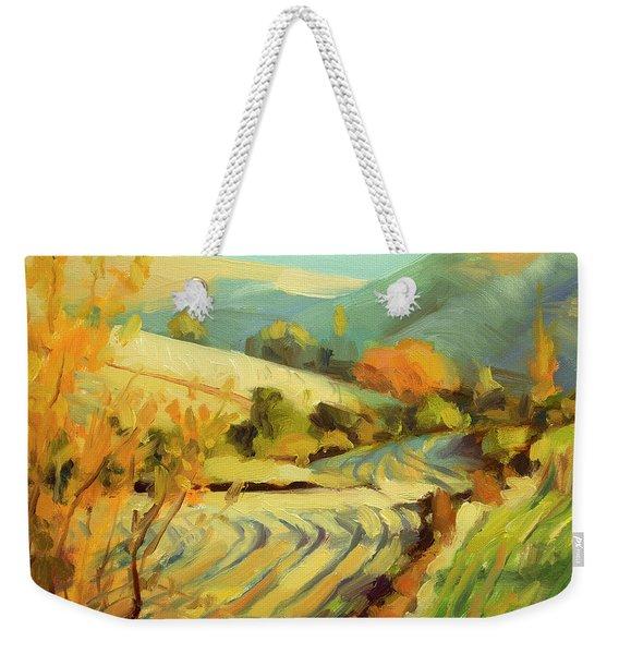 After Harvest Weekender Tote Bag