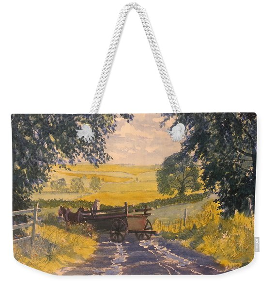 After Rain On The Wolds Way Weekender Tote Bag