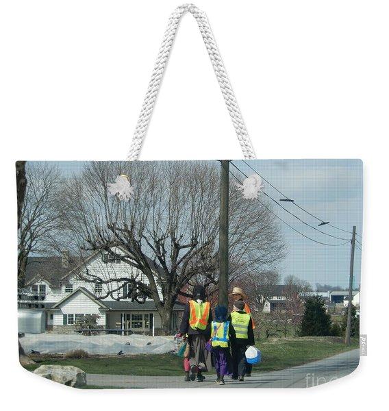 After School Weekender Tote Bag