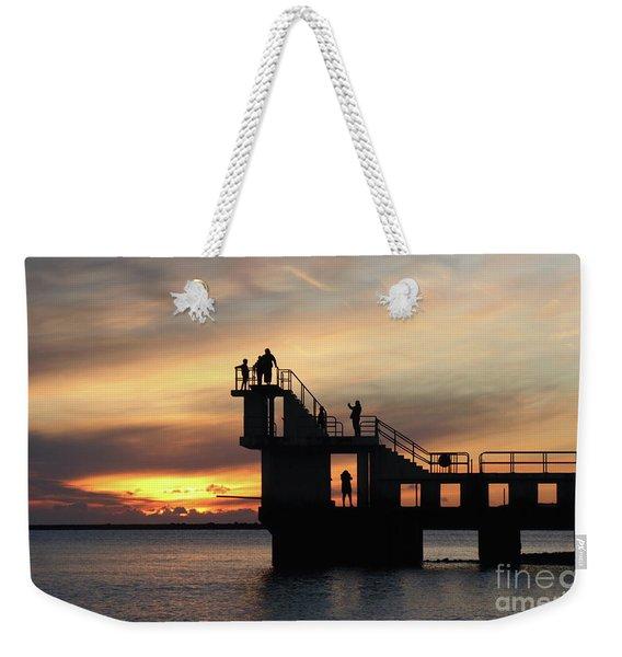 After Sunset Blackrock 5 Weekender Tote Bag