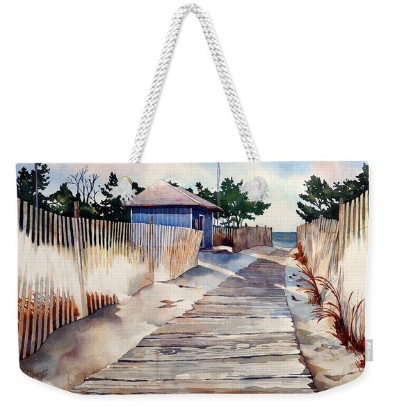 After The Boys Of Summer Weekender Tote Bag
