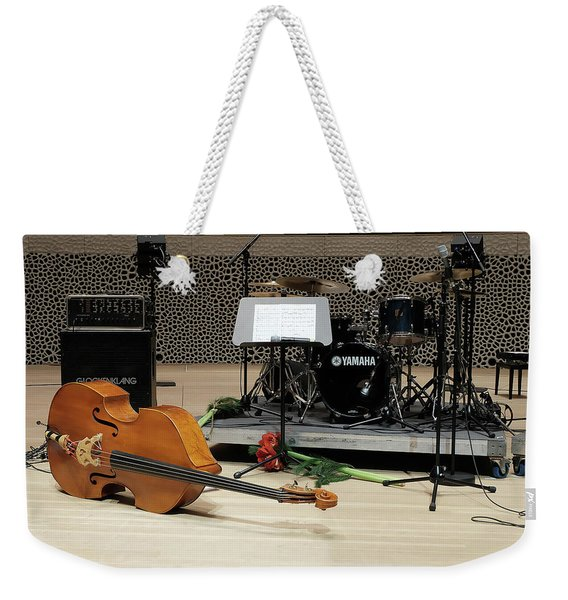After The Concert Weekender Tote Bag