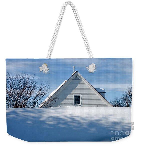 After The Snowfall Weekender Tote Bag